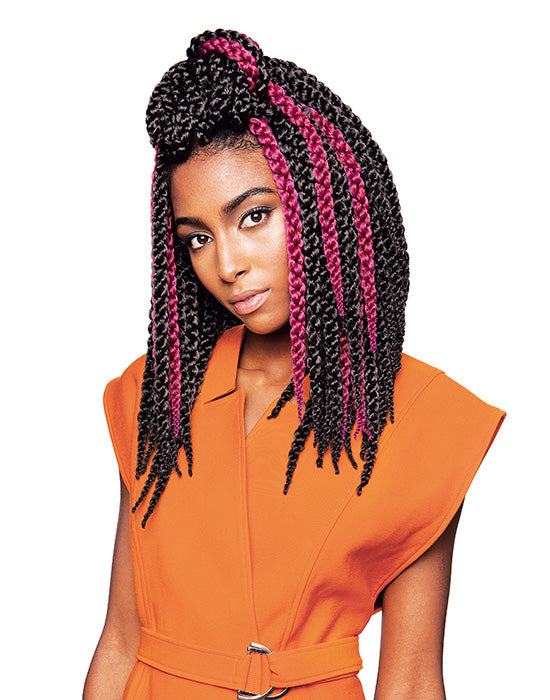 XPRESSION Mèche Crochet Braid 3D Twist Braid Taille 12 pouces