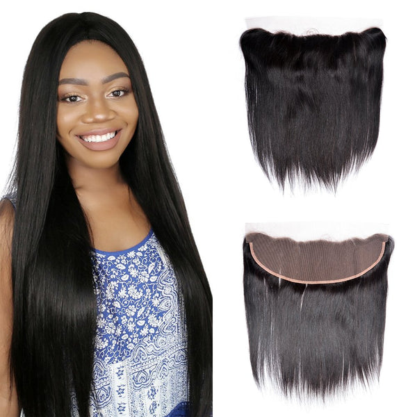 Full lace frontal 13x4 Straight 12""
