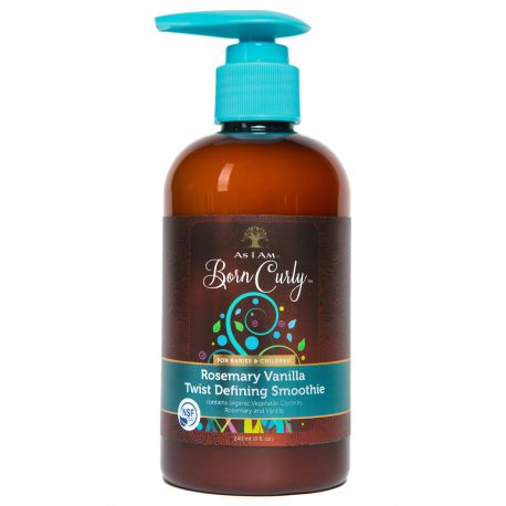 As I Am Born Curly Rosemary Vanilla Twist Defining Smoothie - Crème Coiffante 240ml