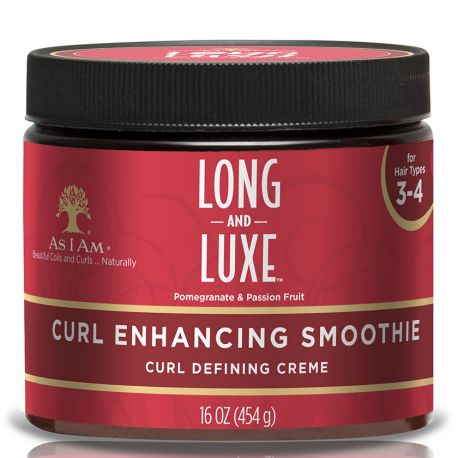 As I Am Long And Luxe Curl Enhancing Smoothie -Crème Coiffante Boucle et Curl 454g