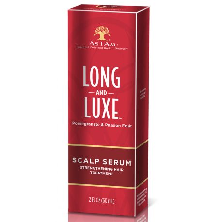 As I Am Long and Luxe Scalp Serum - Sérum Fortifiant Cuir Chevelure 60ml