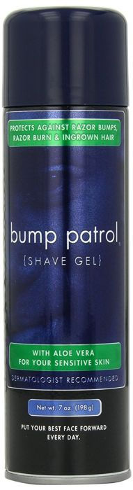 Bump Patrol Shaving Gel Sensitive - Gel De Rasage Peau Sensible 198 g