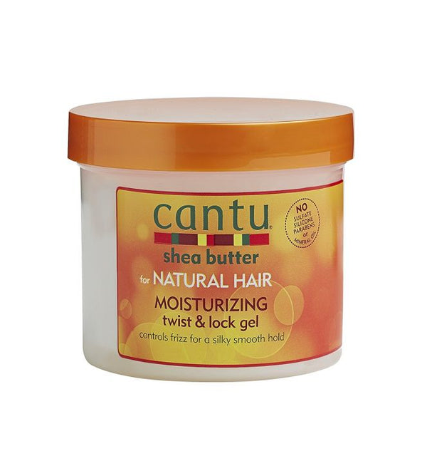 CANTU SHEA BUTTER NATURAL TWIST & LOCK GEL 370 g
