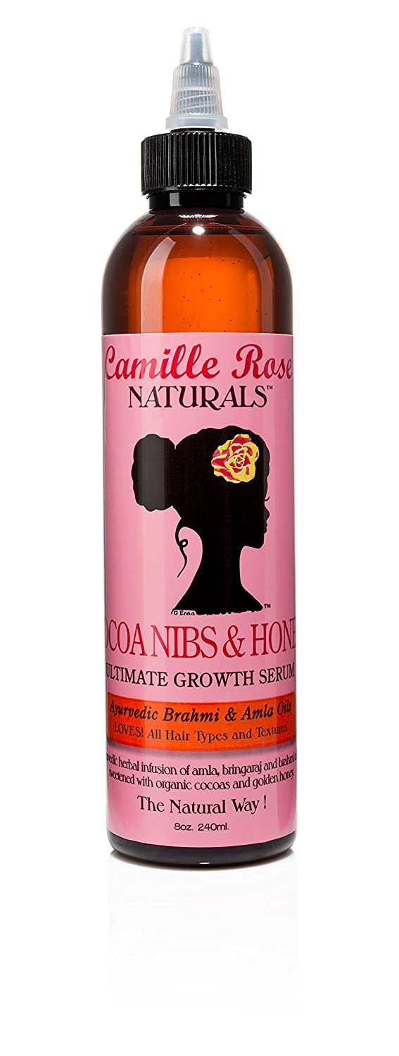 Camille Rose Cocoa Nibs & Honey Ultimate Growth Serum - Sérum de Croissance 240ml