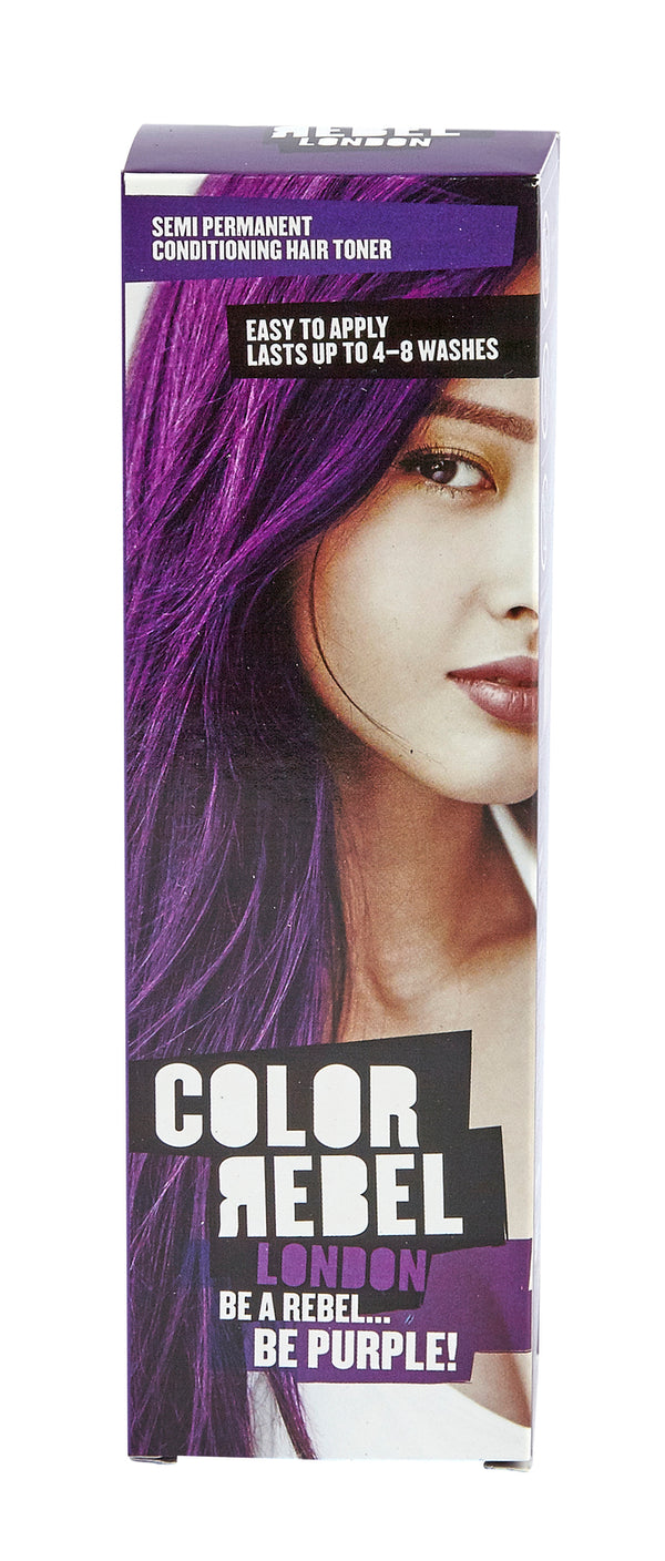 Color Rebel London Semi Permanent 100ml Purple - Violet