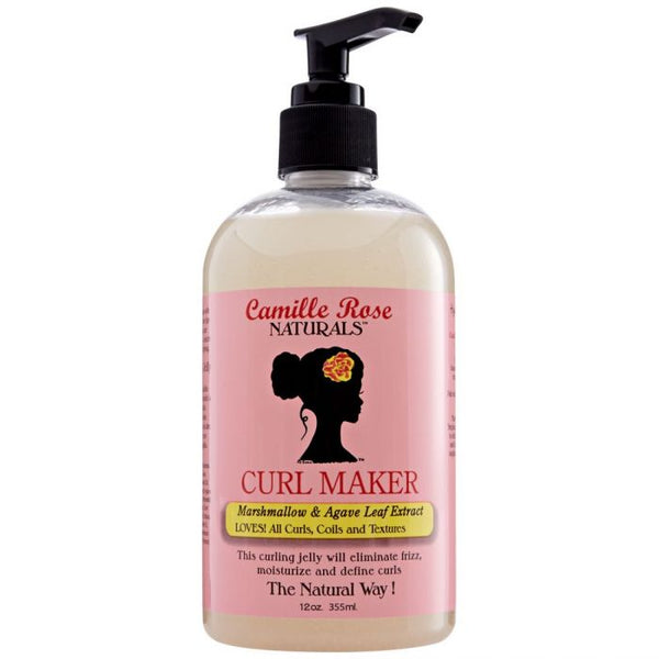 Camille Rose Curl Maker Defining Gel - Gel De Définition 355 ml