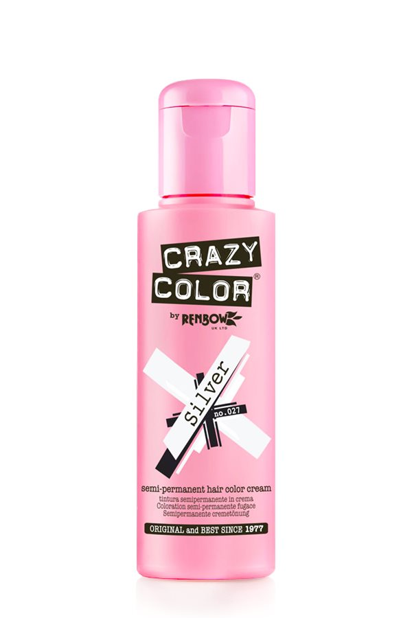 Crazy Color Coloration Semi-Permanante 23 Silver 100ml