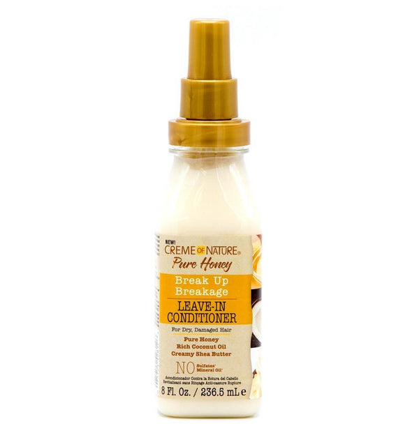 Creme of Nature Pure Honey Breakage Leave In Conditioner - Soin Réparateur Sans Rinçage 236ml