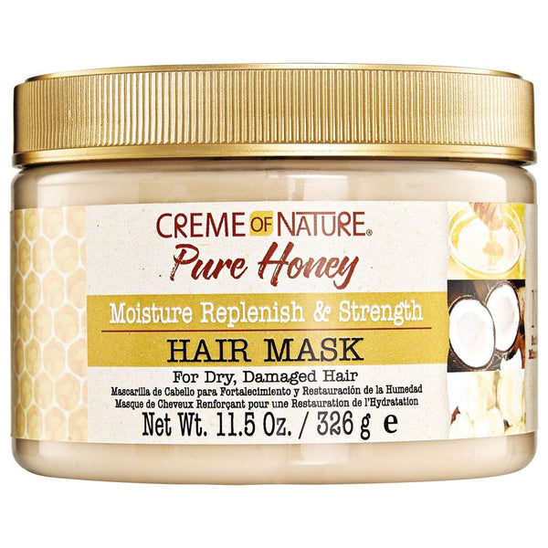 Creme of Nature Pure Honey Hair Mask - Masque Capillaire Hydratant 326g