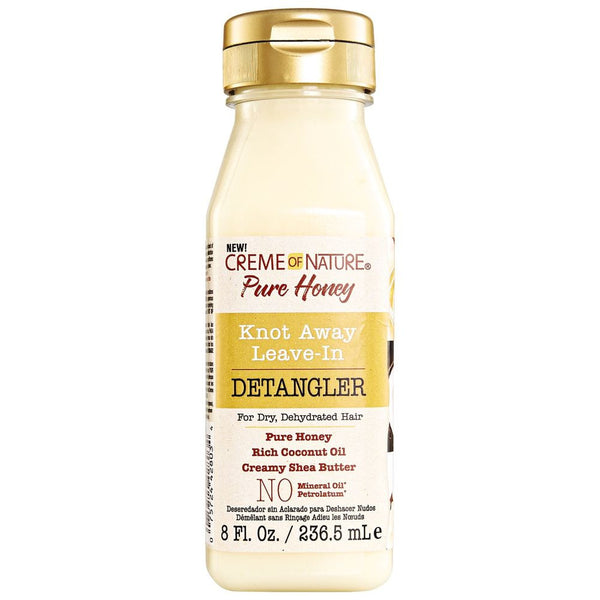 Creme of Nature Pure Honey Leave In Detangler - Soin Démêlant Sans Rinçage 236ml