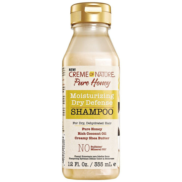 Creme of Nature Pure Honey Shampoo - Shampoing Hydratant 355ml