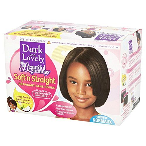 Dark & Lovely Beautiful Beginning Kit Relax Regular - Kit Défrisant Normal
