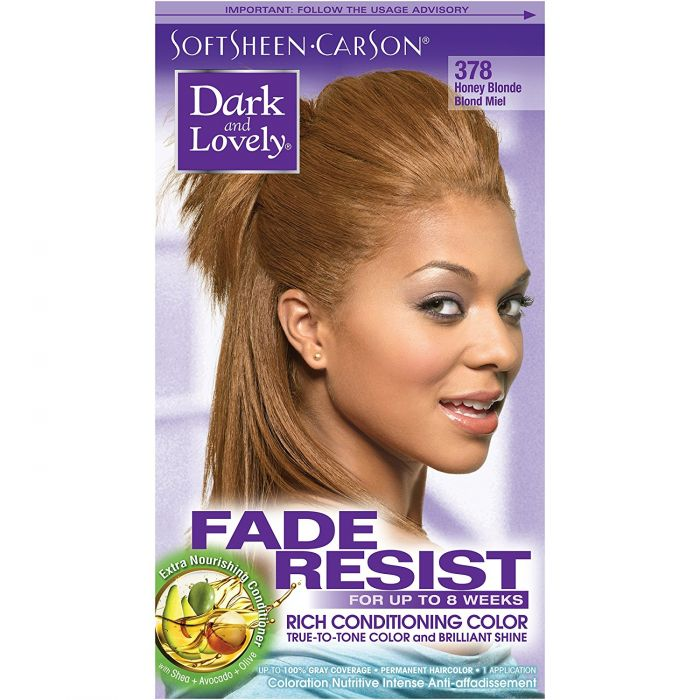 Dark & Lovely Color Honey Blonde 378