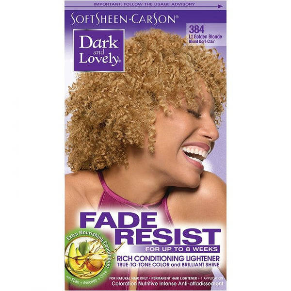 Dark & Lovely Color Golden Blonde 384
