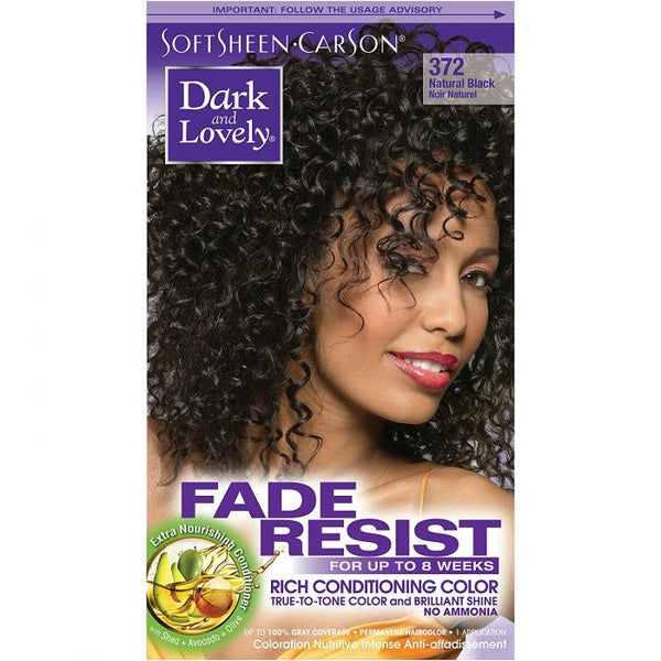 Dark & Lovely Color Natural Black 372
