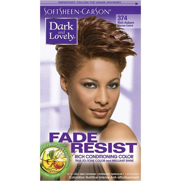 Dark & Lovely Color Rich Auburn 374