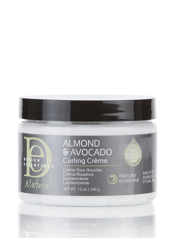 Design Essentials Almond & Avocado Curling Cream - Crème pour Boucles 340g