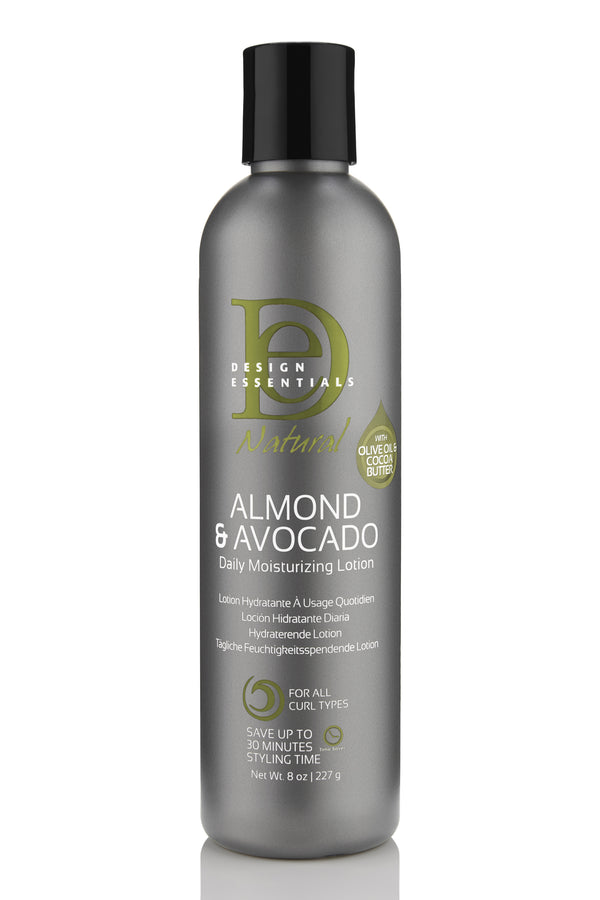 Design Essentials Almond & Avocado Daily Moisturizing Lotion - Lotion Hydratante à Usage Quotidien 227g