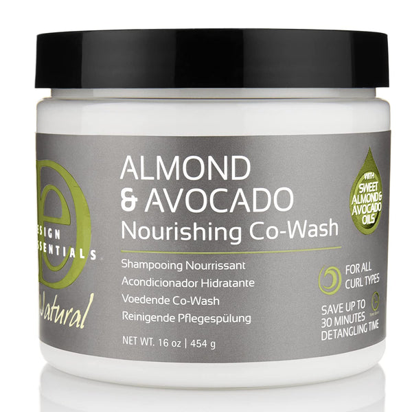Design Essentials Almond & Avocado Nourishing Co-Wash - Crème Nettoyante Nourrissant 454g