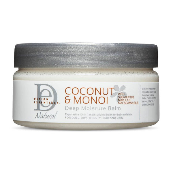Design Essentials Coconut & Monoi Deep Moisture Balm - Baume Hydratation Intense 213g