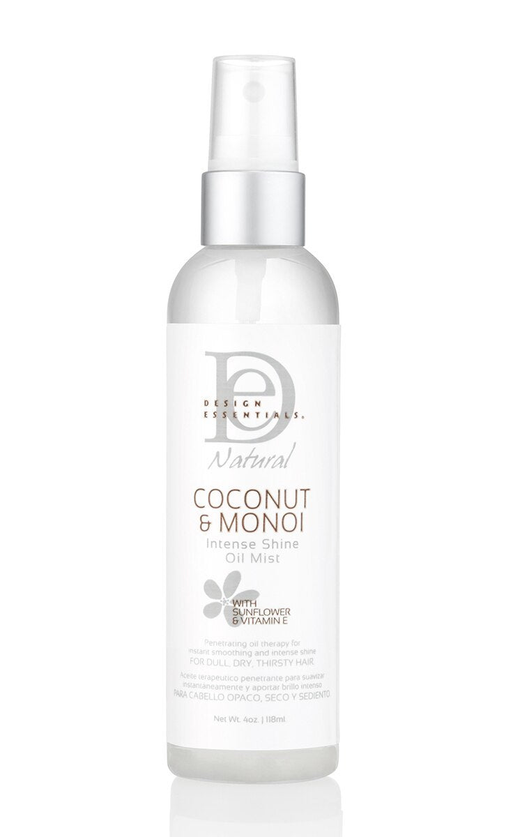Design Essentials Coconut & Monoi Intense Shine Oil Mist - Brume Brillant Intense 118ml