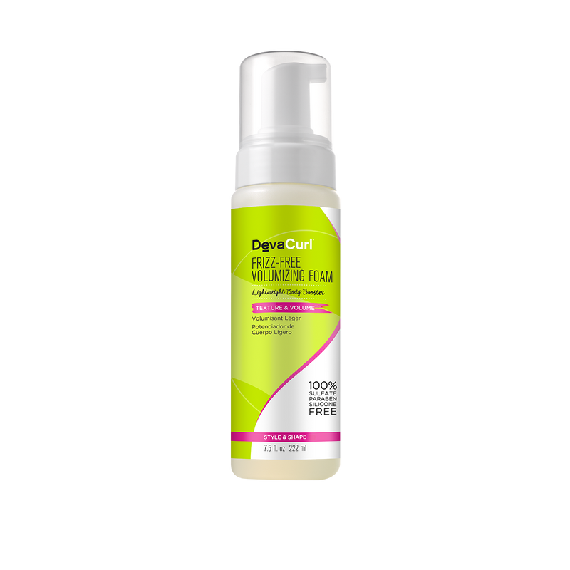 DevaCurl Frizz Free Volumizing Foam - Mousse Volumisant Léger 222ml