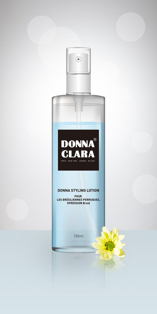 Donna Clara Styling Lotion pour les Perruques, Xpression, braid, mèches 150ml