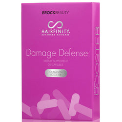 Hairfinity Damage Defense - Défense Collagène Booster 30 Capsules