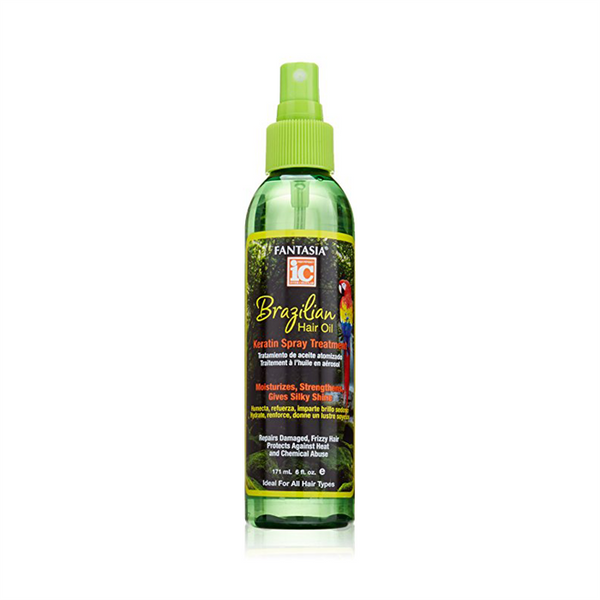 IC Fantasia Brazilian Hair Oil Keratin Spray Treatment 171ml