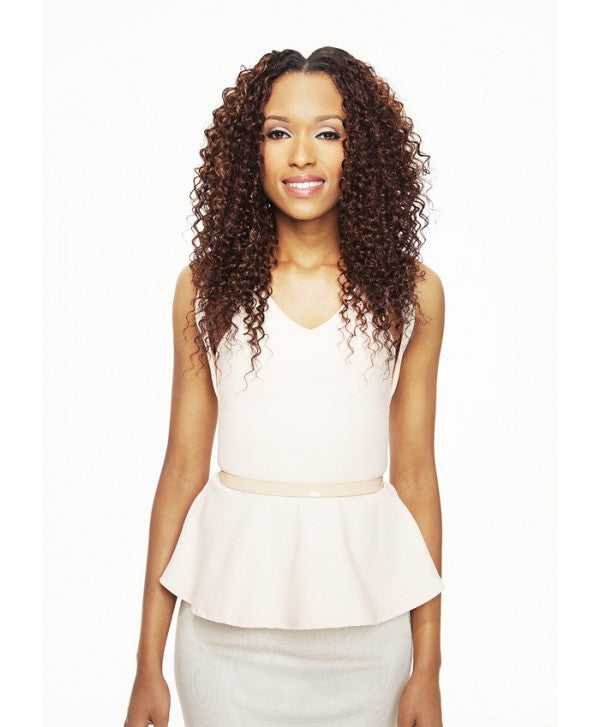 "Sleek Hair - TISSAGE SEMI-NATUREL IVORY WEAVE 18"" Performance Semblable Cheveux naturel"