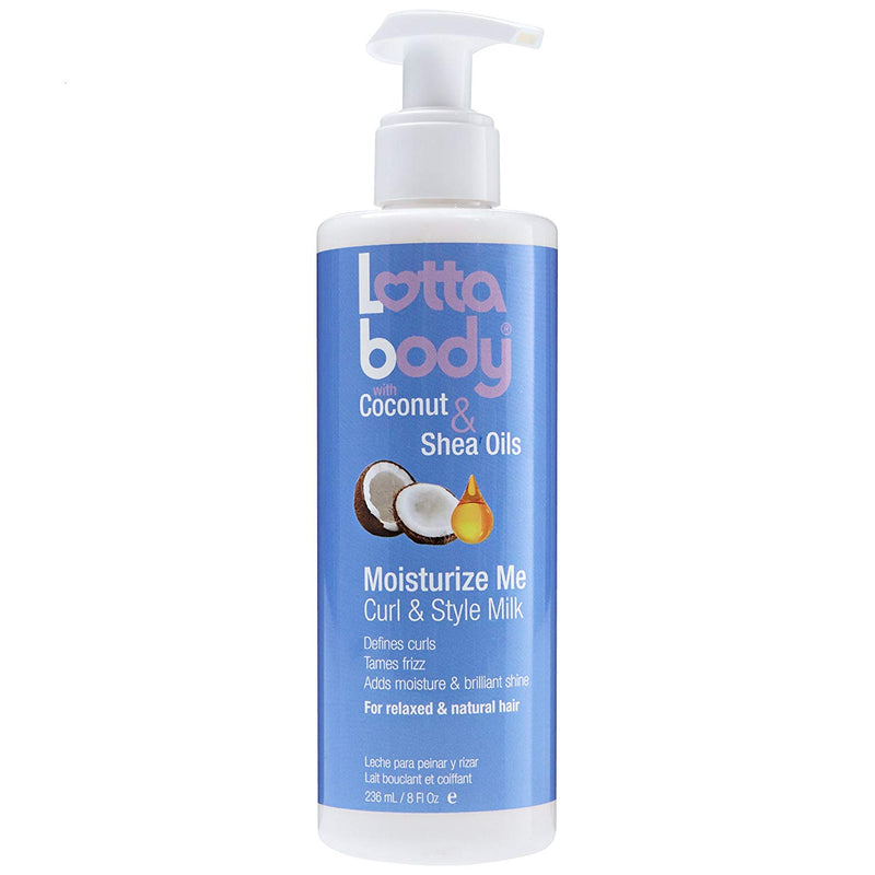 Lotta Body Coconut & Shea Curl & Style Milk - Lait Hydratant Boucles 236ml