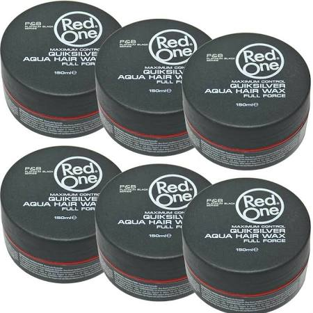 PACK 6 Red one Quiksilver Aqua Wax 6x150ml