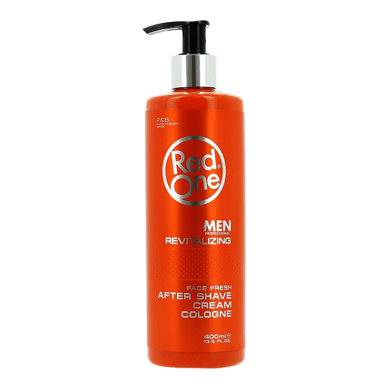 Red One Men Professional REVITALIZING After Shave Cream - Crème de Cologne après rasage 400ml
