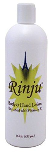 Rinju Hand & Body Lotion Vitamin E - Lait Main et Corps Vitamine E 453 g