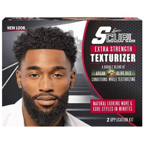 S-Curl Texturizer Kit 2 App. Super - Défrisant Texturant 2 Application FORT