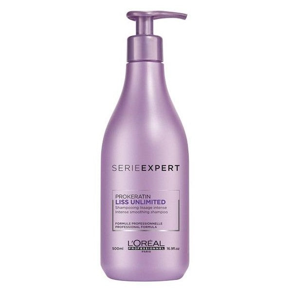 L'Oréal Professionnel Serie Expert Shampooing Prokeratin Liss Unlimited - Lissage Intense 500 ml