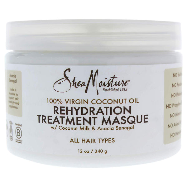 Shea Moisture 100% Virgin Coconut Oil Treatment Masque 340g
