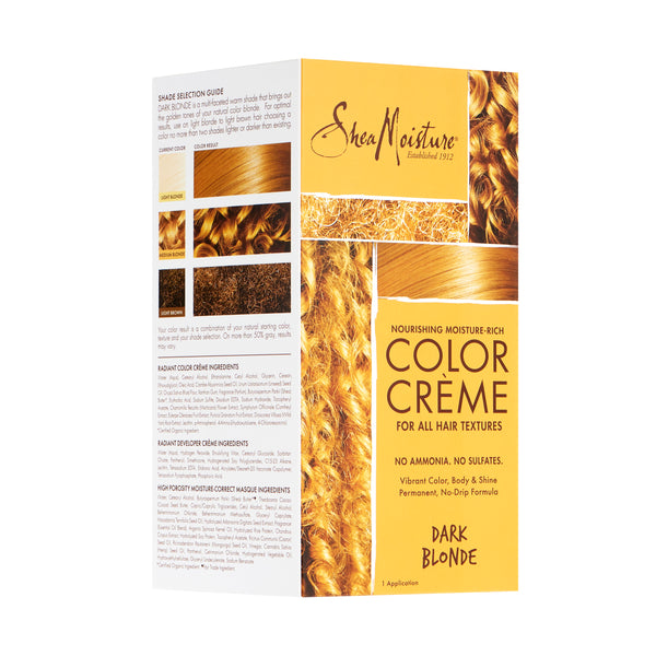 Shea Moisture Color Crème Dark Blonde