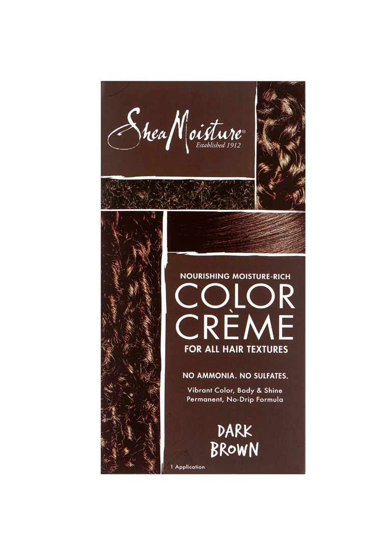 Shea Moisture Color Crème Dark Brown