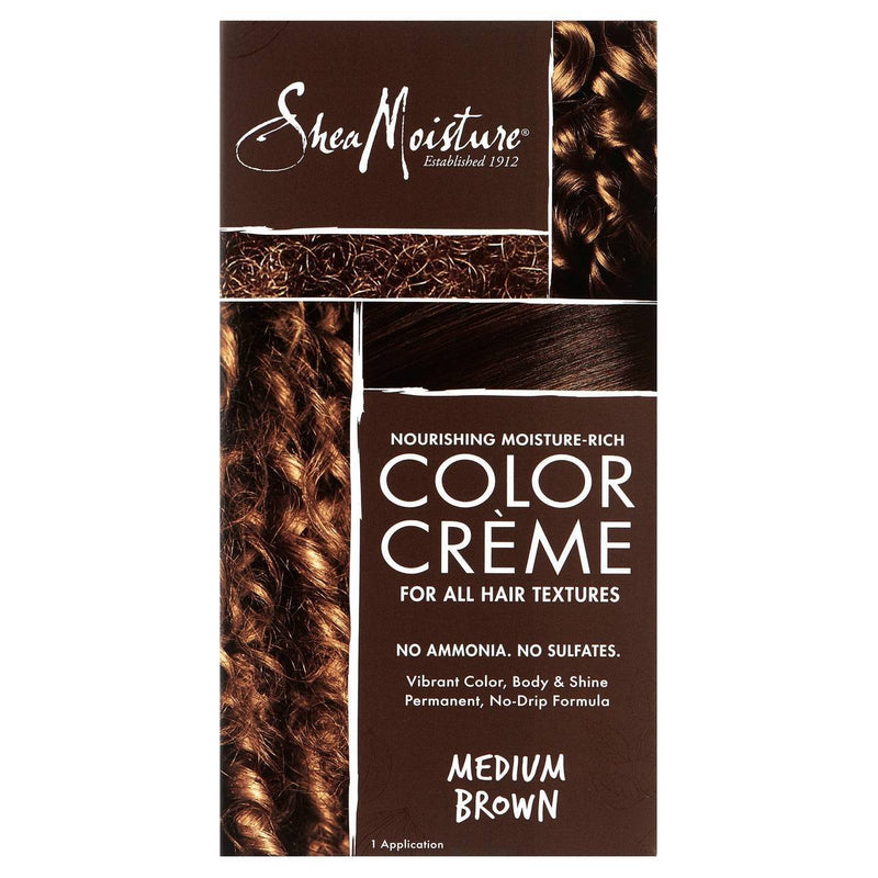 Shea Moisture Color Crème Medium Brown