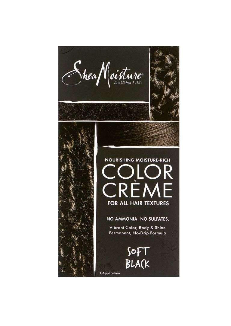 Shea Moisture Color Crème Soft Black