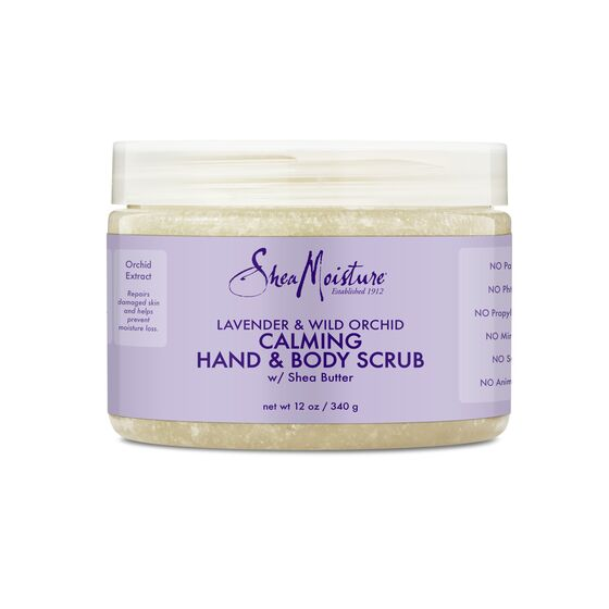 Shea Moisture Lavender & Wild Orchid Hand & Body Scrub - Gommage 340g