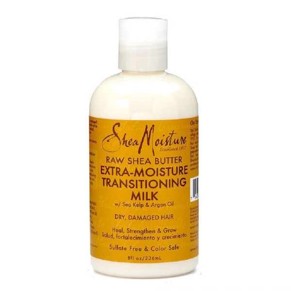 Shea Moisture Raw Shea Butter Extra Moisture Transitioning Milk - Lait Ultra Hydratant 236 ml