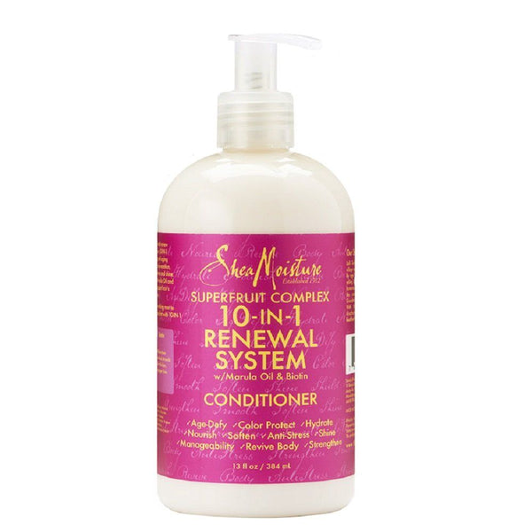 Shea Moisture Superfruit Complex 10-in-1 Renewal System Conditioner - Après-shampoing 384 ml