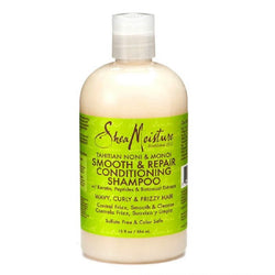Shea Moisture Thaitian Noni & Monoi Smooth & Repair Conditioning Shampoo - Shampoing 384 ml