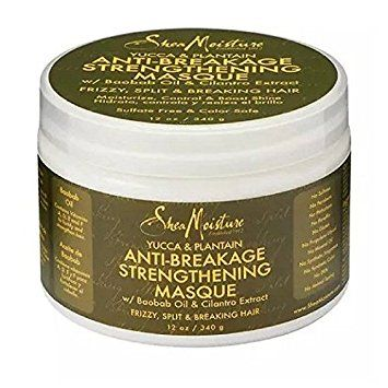 Shea Moisture Yucca & Plantain Anti-Brekage Strengthening Masque - Masque Capillaire 340 g