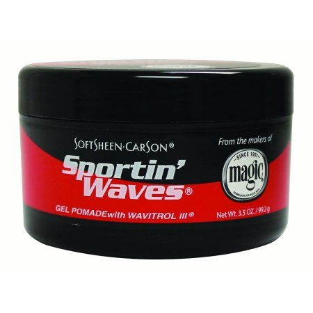 Sportin Waves Gel Pomade Regular Hold - Normal 3.5oz.