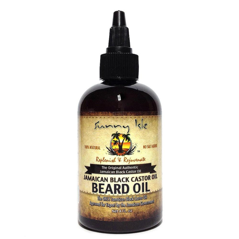 Sunny Isle Jamaican Black Castor Oil Beard Oil - Huile Barbe 128ml