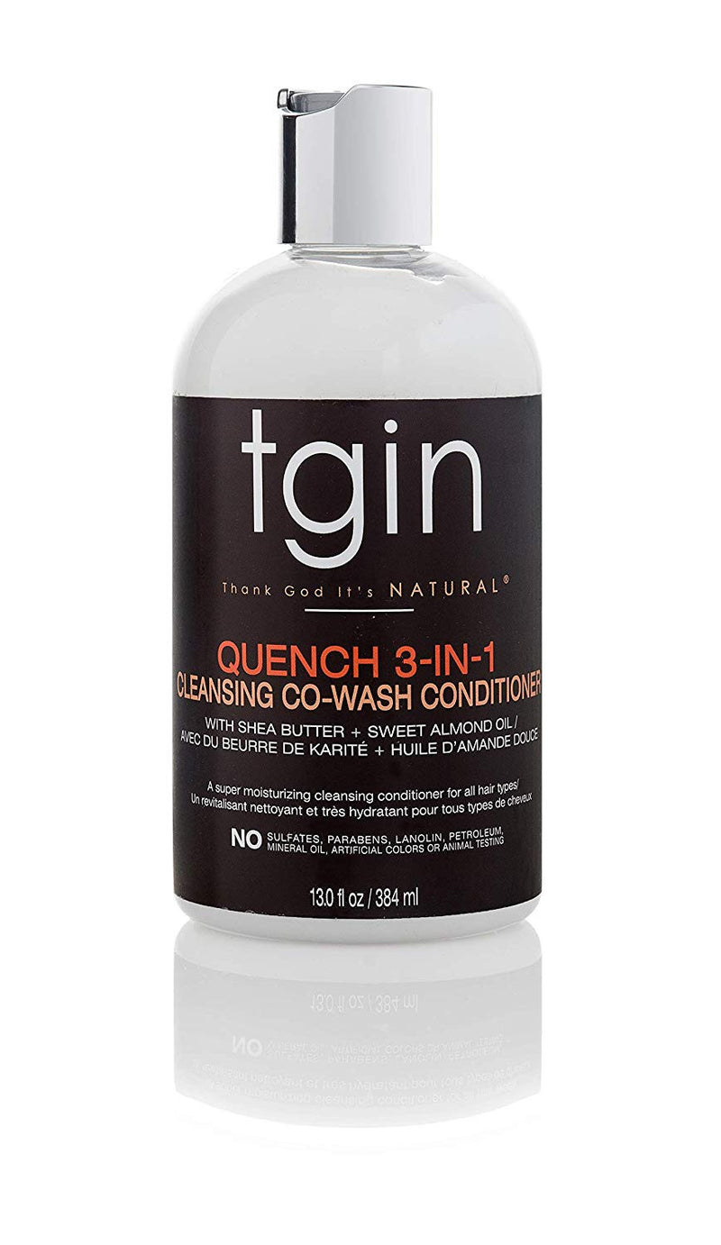 TGIN Quench 3 in 1 Co/Wash Conditionner and Detangler 384ml