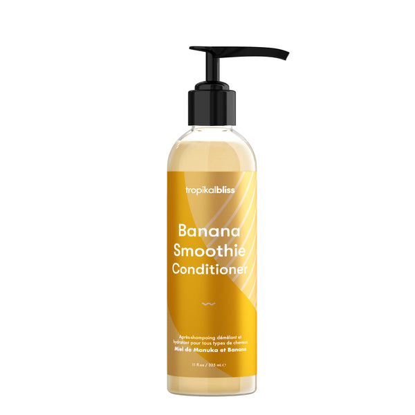 Tropikalbliss Banana Smoothie Conditioner -  Après-shampoing Miel et Banane 325ml